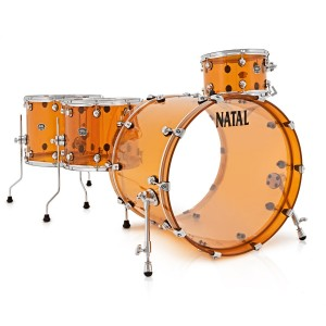 Natal Arcadia Acrylic drum kit