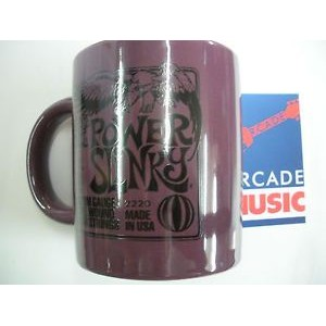 Ernie ball strings drinks mug, collectable. Power Slinky
