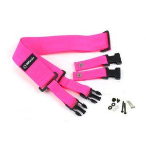 DiMarzio DD2200PK cliplock guitar strap. Pink