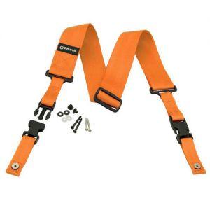DiMarzio DD2200OR cliplock guitar strap. Orange