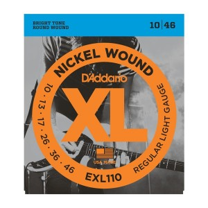 D'Addario XL Regular Light 10-46 Electric Guitar Strings