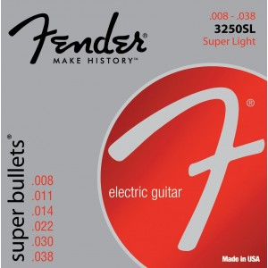 Fender Super Bullets 8-38 Electric Guitar Strings
