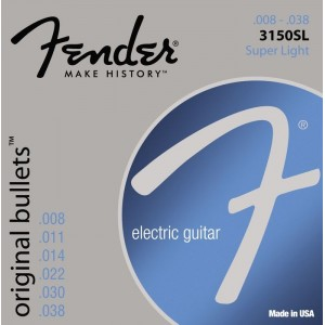 Fender Original Bullets 8-38 Electric Guitar Strings