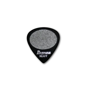 Ibanez Sand Grip Plectrum 1mm Heavy Black x 3