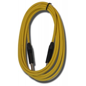 Piranha Professional Instrument Cable 6 metre – Yellow