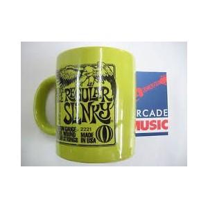Ernie ball strings drinks mug, collectable. Regular Slinky.