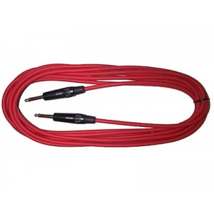 Piranha Professional Instrument Cable 6 metre – Red