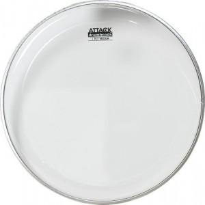 """Attack Terry Bozzio Single-ply Clear Drum Head – 20"""""""