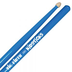 Vic Firth Kid sticks. 13 inches long in Blue.