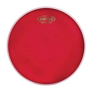"""Evans Hydraulic Red Batter Drum Head – 13"""""""