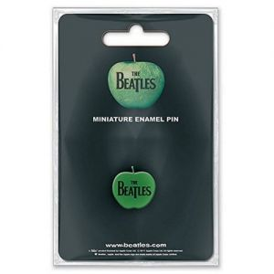 Beatles Mini Pin Badge Apple Logo