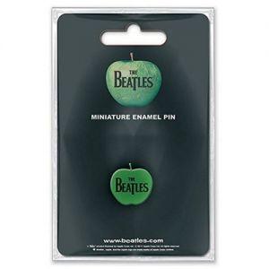Beatles Mini Pin Badge Apple Logo