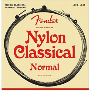 Fender classical nylon ball end strings