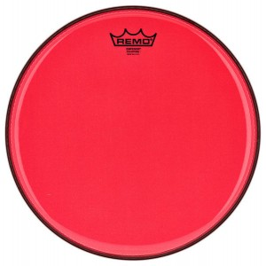"Remo 16"" Emperor Colortone Red"