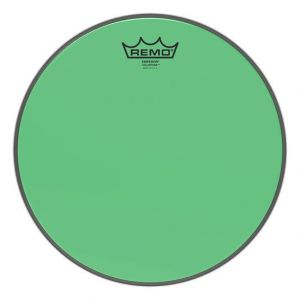 "Remo  Emperor 13"" Colortone Head Green"