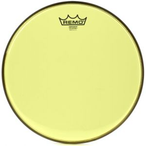 "Remo Emperor 13"" Colortone Head Yellow"