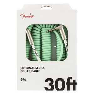 Fender 3o foot coiled guitar lead