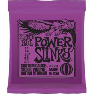 Ernie Ball Power Slinky 11-48 Electric Guitar Strings