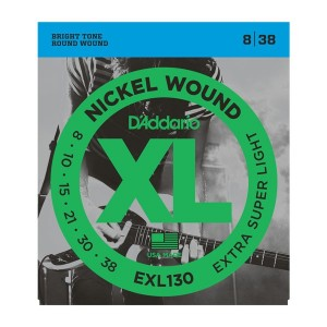 D'Addario XL X-Super Light 8-38 Electric Guitar Strings