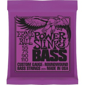 Ernie Ball Power Slinky 55-110 Bass Guitar Strings