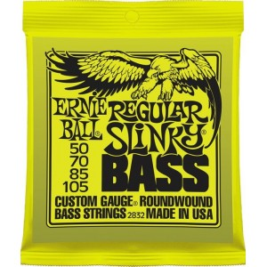 Ernie Ball Regular Slinky 50-105 Bass Guitar Strings