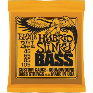 Ernie Ball Hybrid Slinky 45-105 Bass Guitar Strings
