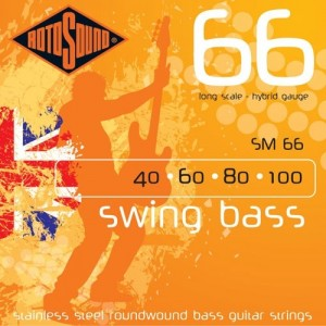 Rotosound Swing Bass 40-100  Bass Guitar Strings
