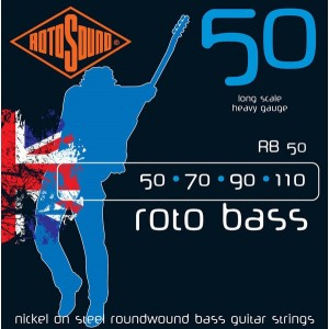 Rotosound Rotobass 50-110 Bass Guitar Strings