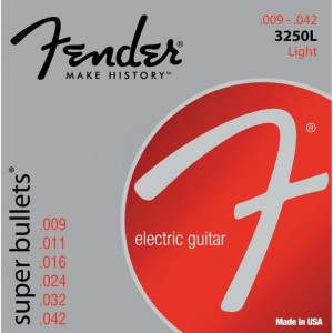 Fender Super Bullets 9-42 Electric Guitar Strings