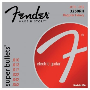 Fender Super Bullets 10-52 Electric Guitar Strings