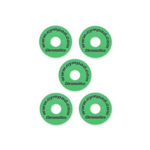 Cympad Chromatics Foam Felt Replacement – Green – 5 Pack