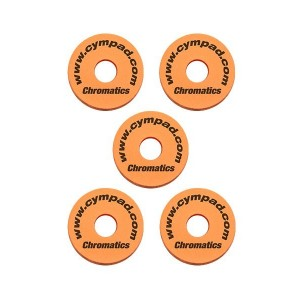 Cympad Chromatics Foam Felt Replacement – Orange – 5 Pack