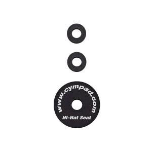 Cympad Hi Hat Foam Felt Replacement Toppers – Black
