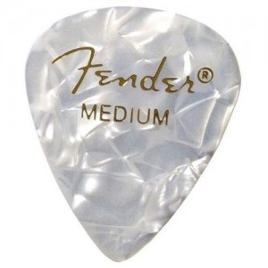 Fender Classic 351 Medium Pearloid Picks – Pack of 12