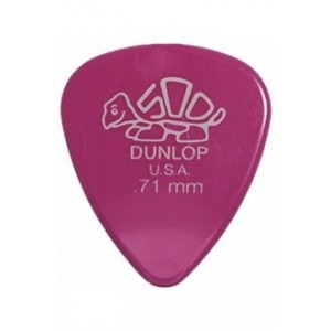 Jim Dunlop 4100 Delrin 500 .71mm Guitar Pick