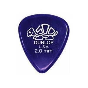 Jim Dunlop 4100 Delrin 500 2.0mm Guitar Pick
