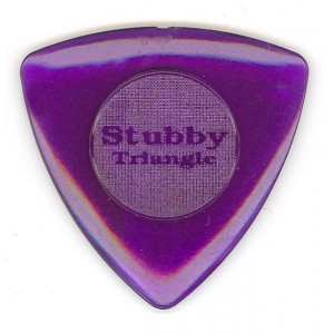 Jim Dunlop 473 Tri Stubby 2.0mm Bass Guitar Pick