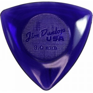 Jim Dunlop 473 Tri Stubby 3.0mm Bass Guitar Pick