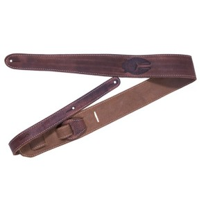 Fender Road Worn Leather Strap - Brown